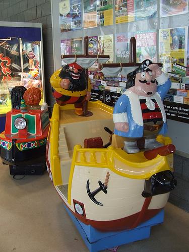 Captain Pugwash children's amusement ride