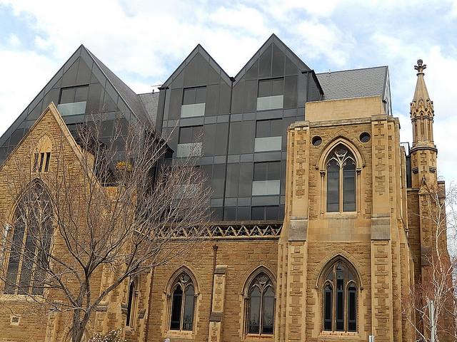 Church building with a modern twist