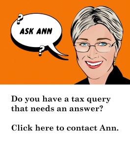 Ask Ann a tax question